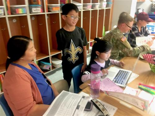 Thayer Elementary Parent-Teacher conferences 1