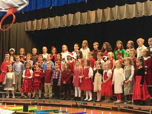 Thayer holiday concert