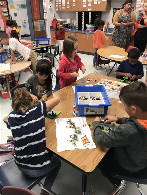 Thayer Elementary first graders practice their story retelling skills 2