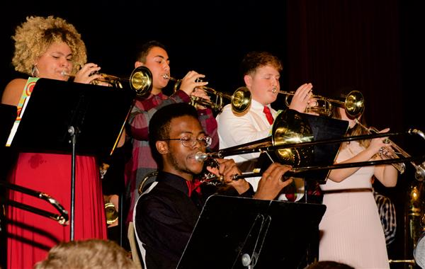 Jazz Band Holds Winter Concert