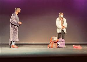 Scene from the play, Almost Maine
