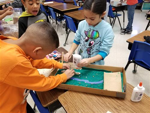 Partridge Elementary second graders learn about Native Americans 2