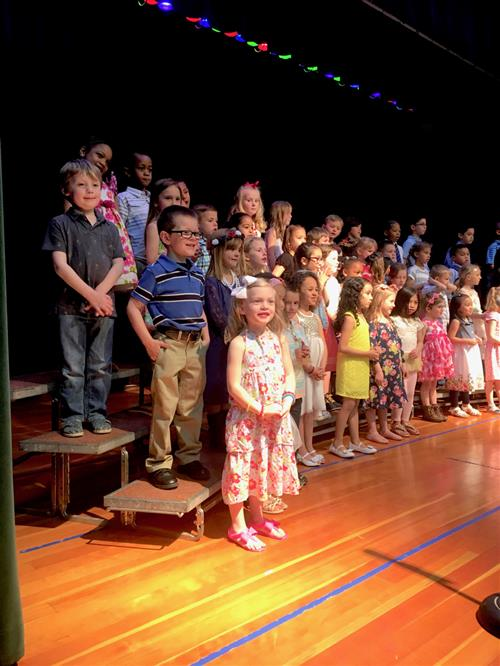 Wonderful World of Kindergarten Performance