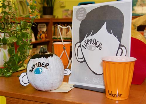 Wood Elementary students decorate pumpkins like book characters 3