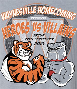 Homecoming theme is Heroes vs Villains