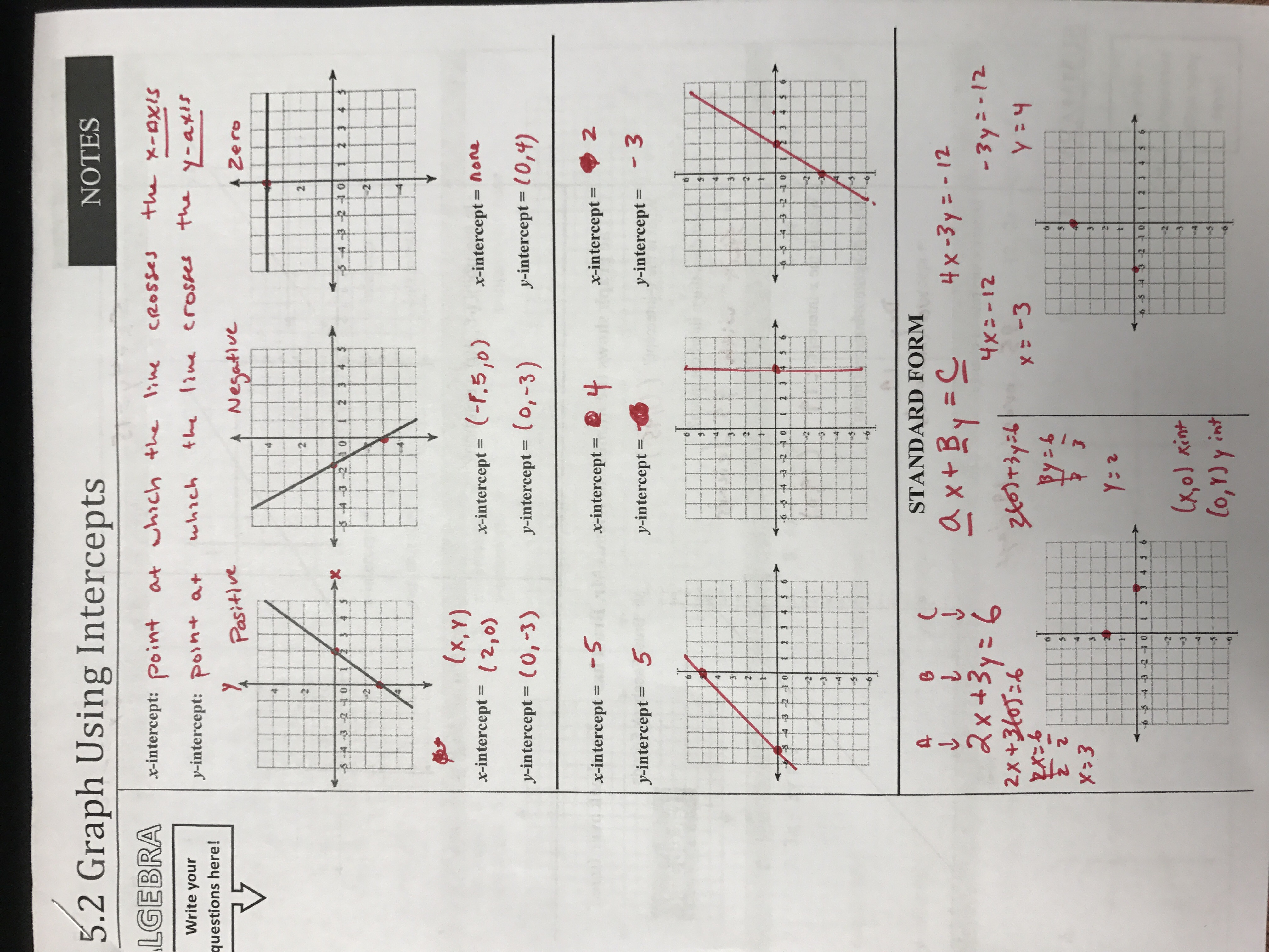 Lauritson george algebra 1 notes and coursework 52 notes falaconquin
