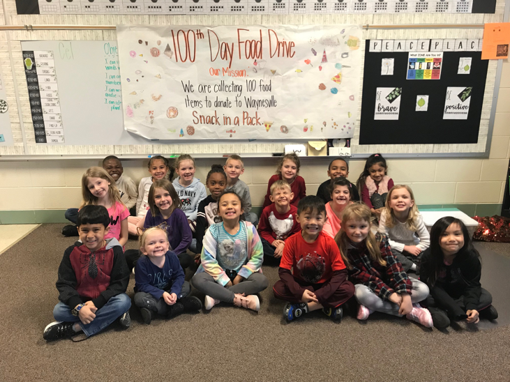 Partridge celebrates 100th day of school