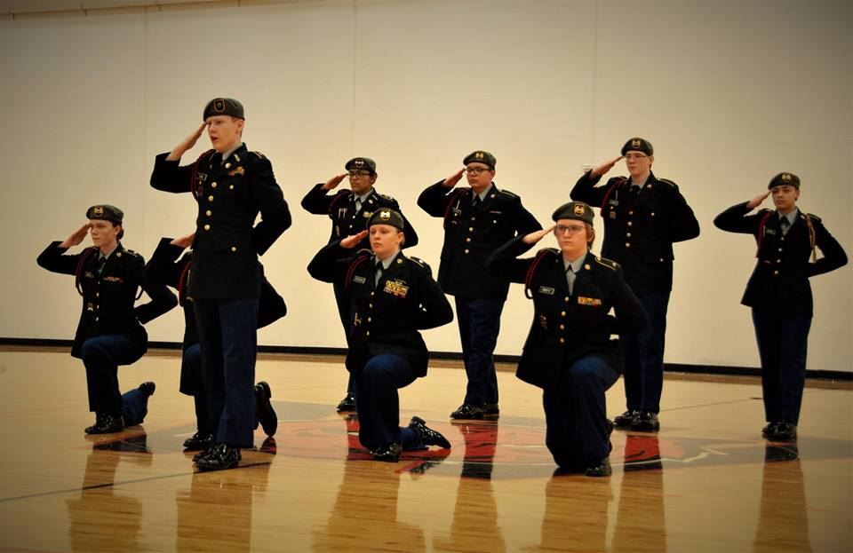 JROTC hosts drill meet at WHS for 23 teams