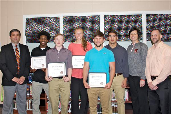WHS All-State athletes recognized