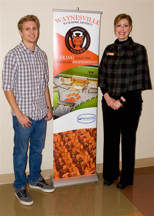 WCC student's design selected for recruitment banner