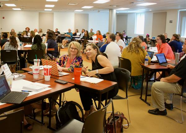 Community leaders work together on district's strategic plan
