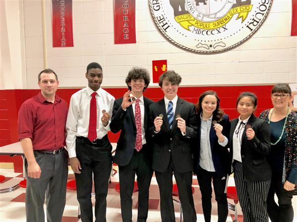 WHS debate students compete at Districts
