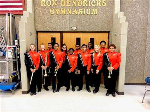 Central District Band competitors