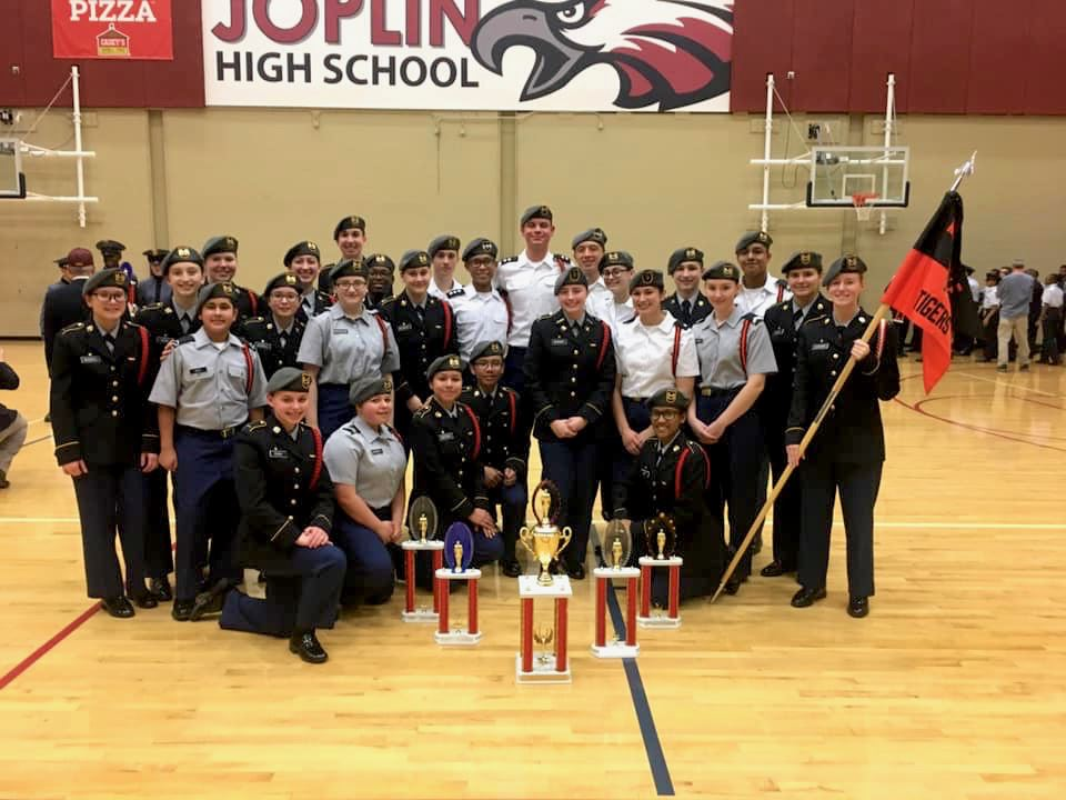 Drill team is overall champion