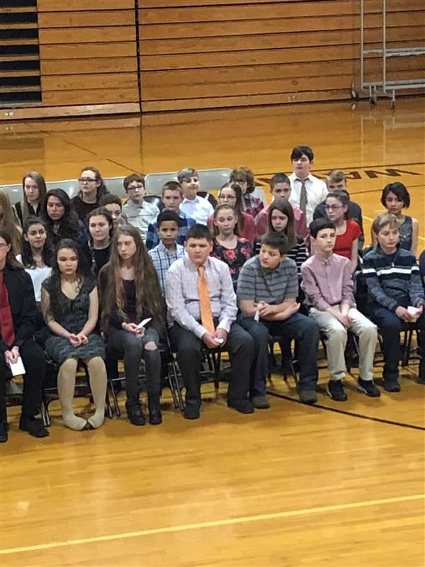 WMDS NJHS inducts 100 students