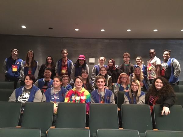 WHS Thespians attend workshop