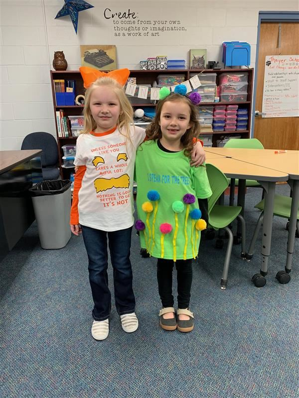 Thayer Elementary celebrates Love of Reading