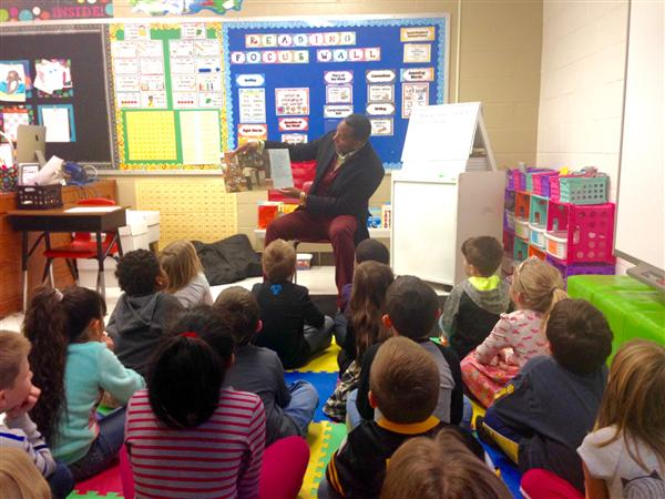 Guest Book Reader at East Elementary