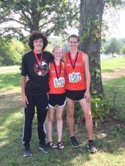 Three receive medals at Cross Country