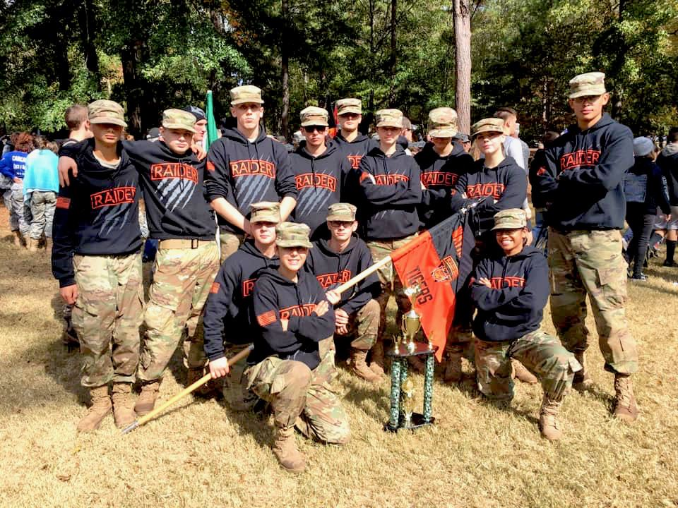 Waynesville JROTC finishes 6th in nation in Mixed Division