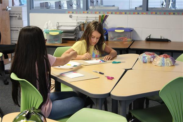 Thayer students participate in STEAM activities