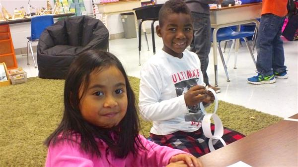 Thayer second graders participate in STEM activities