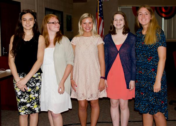 School board recognizes WHS interns