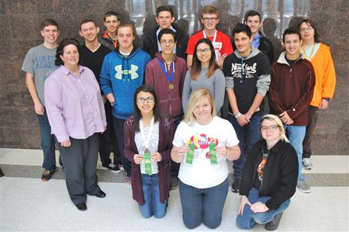 WHS Science Olympiad Team to go to state