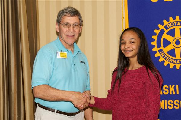 Devane named WHS Student of the Month