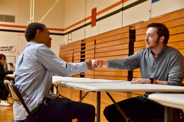 Waynesville Middle School hosts mock interviews