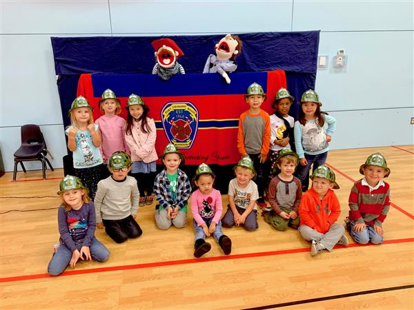 Williams Early Childhood Center students learn fire safety