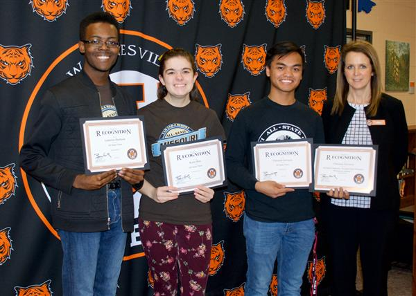 All-State Band and Choir members recognized