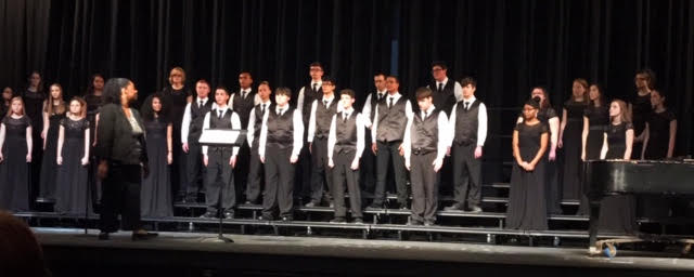 Choirs perform at state contest and in pre-contest concert