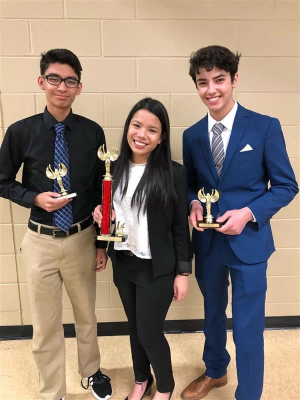 Debaters bring home trophies; Francisco is champion