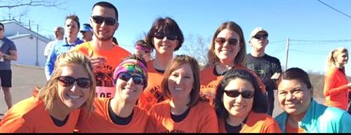 Teachers, staff and friends raise funds for Special Olympians