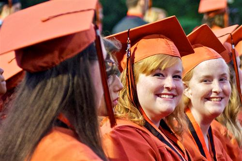 Photos from WHS graduation