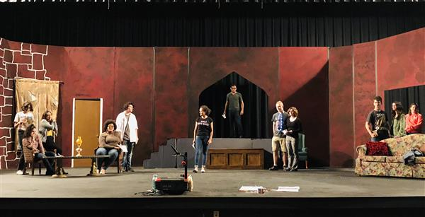 "WHS theatre presents ""Absolutely Murder"""
