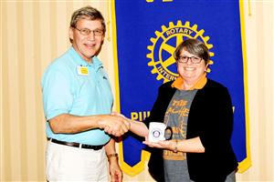 Transition to Work program serves as focus for Rotary meeting